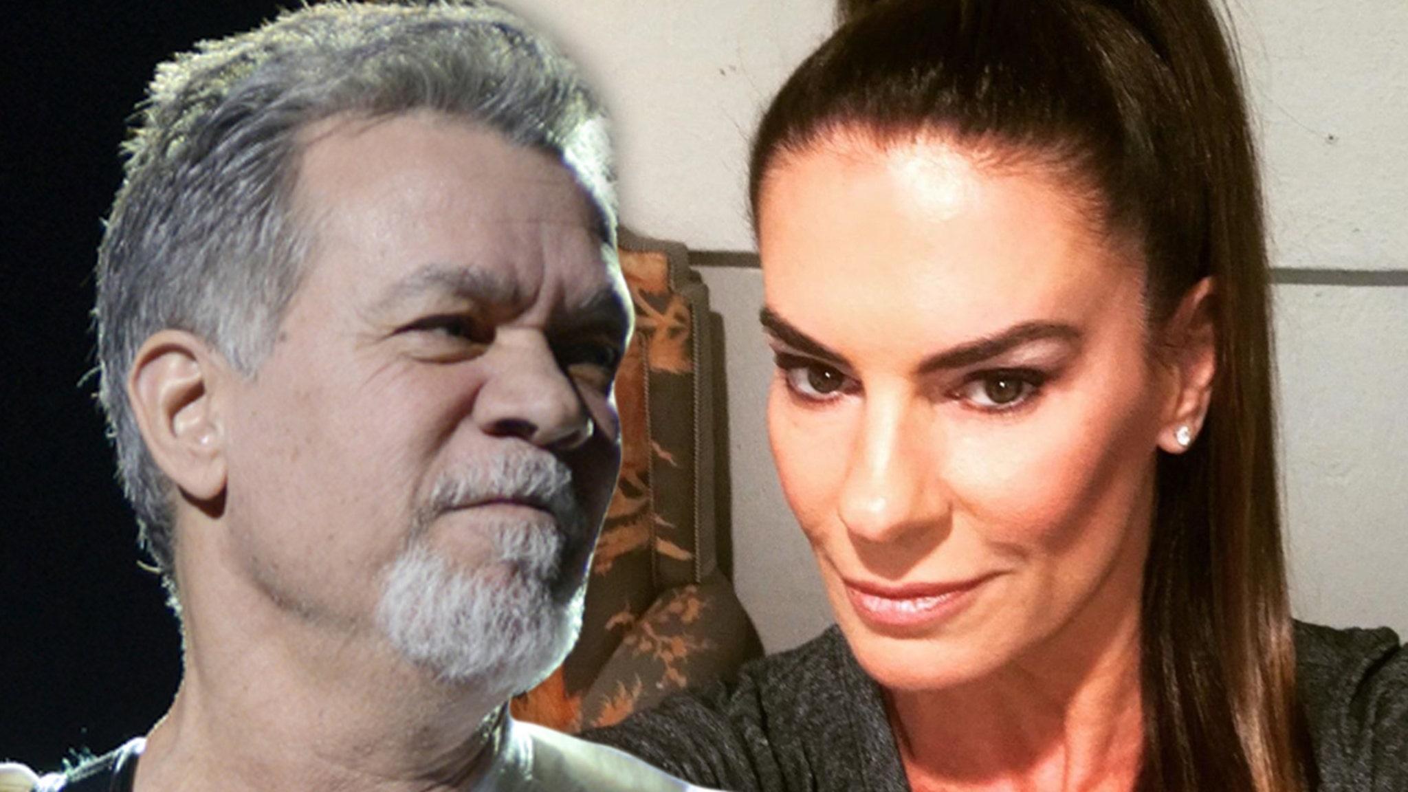 Eddie Van Halen Wife Janie Shattered By Death Rock World Mourns Too