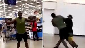 Big Man Violently KO'ed In Walmart Fight Is NOT Ex-NFLer Bruce Campbell
