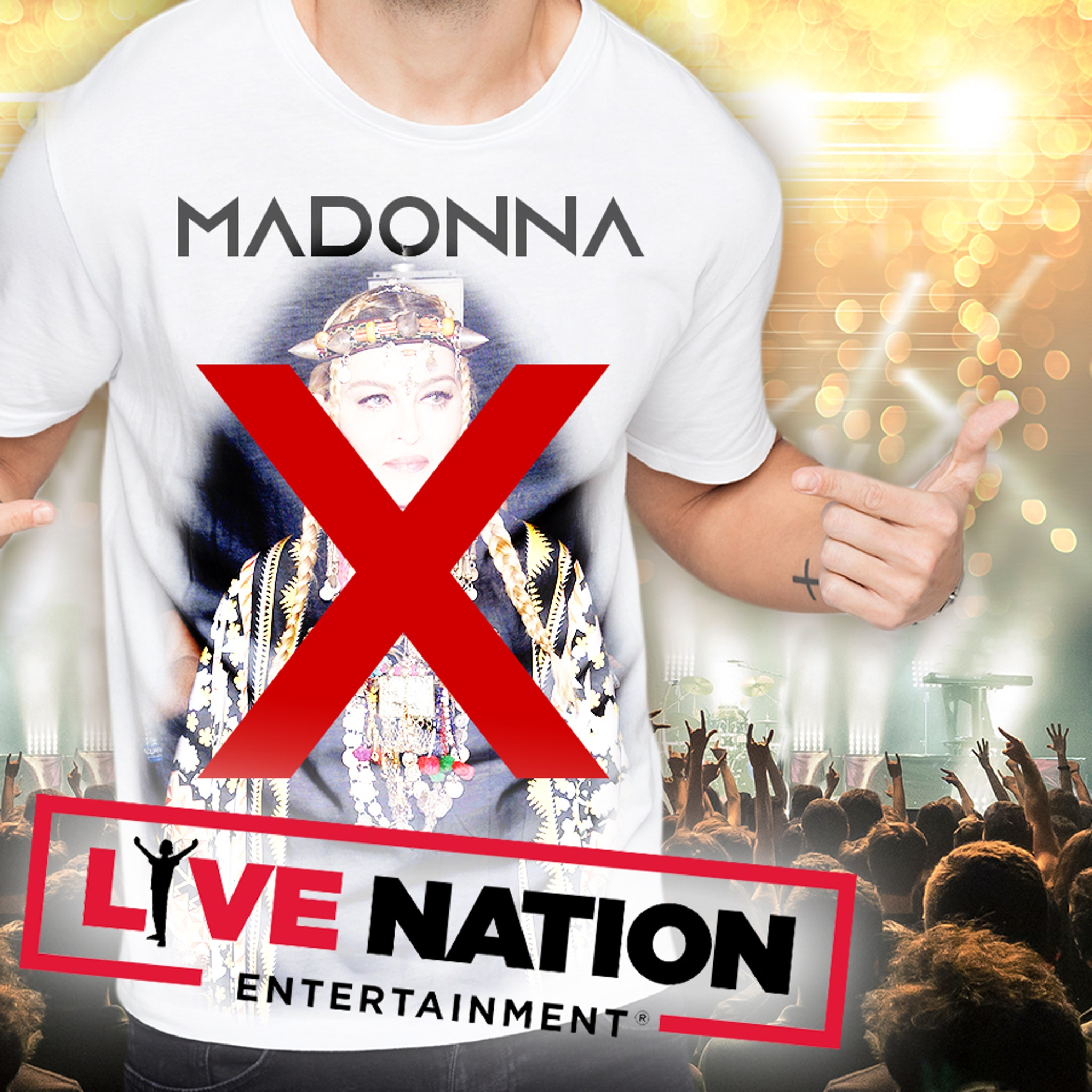Madonna Merch Bootleggers Targeted by Live Nation