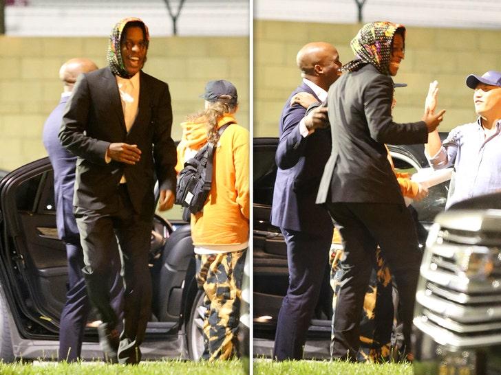 ASAP Rocky Lands In Los Angeles