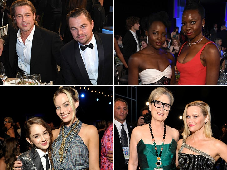 2020 SAG Awards -- Behind The Scenes