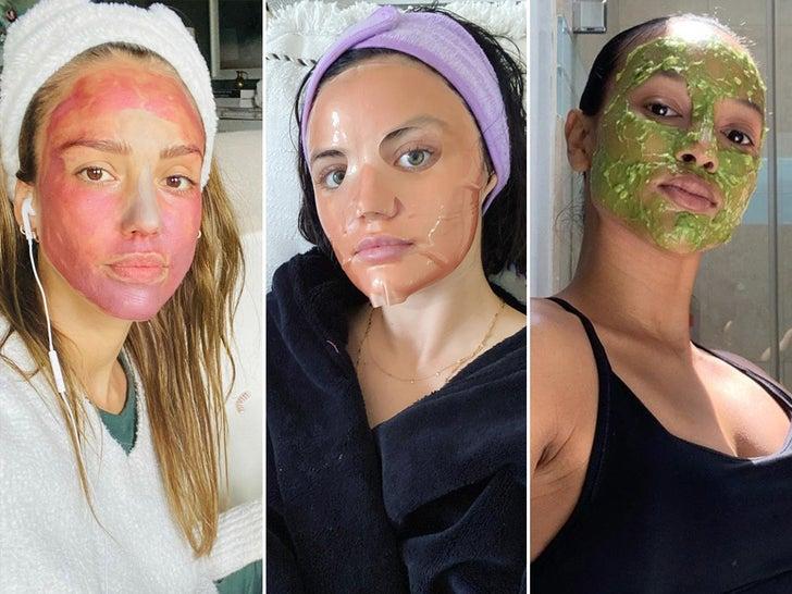 Self-Care Quarantine Face Masks