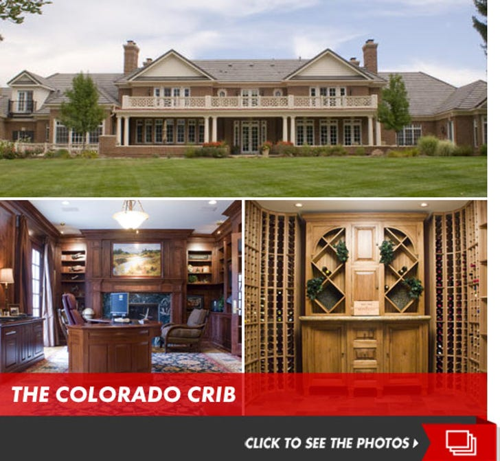 Peyton Manning Scores Denver Mansion ... for Millions