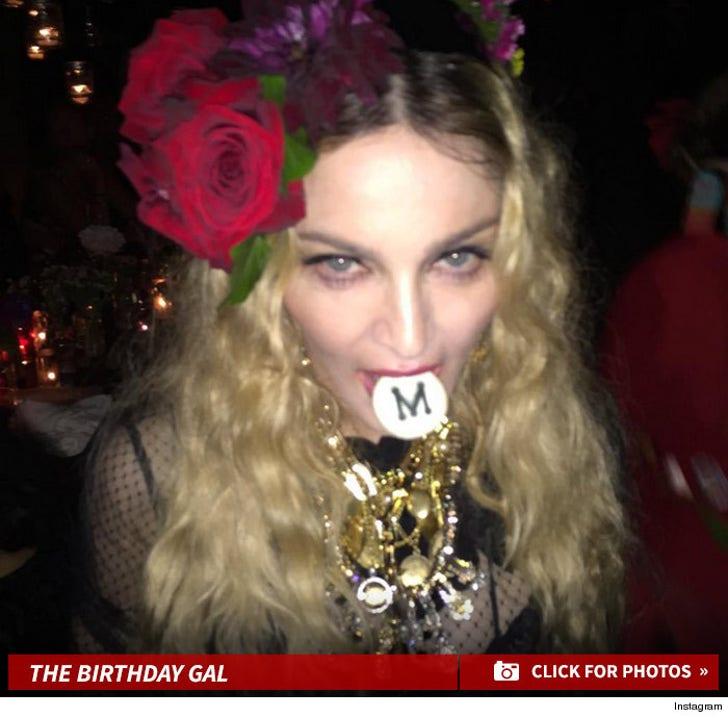 Madonna's Birthday Celebration