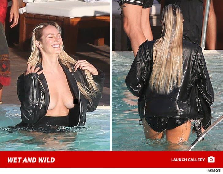 Candice Swanepoel Photoshoot - Wet and Wild