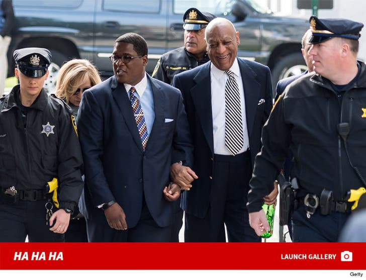 Bill Cosby -- Laughing Out of Court
