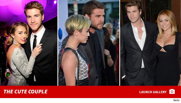 Miley Cyrus and Liam Hemsworth -- Before The Split