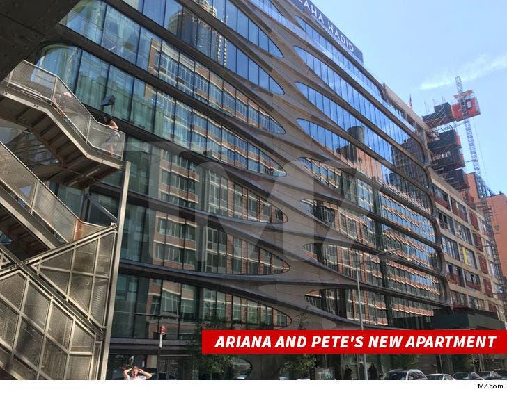 Ariana Grande and Pete Davidson Move Into $16 Million NYC ...