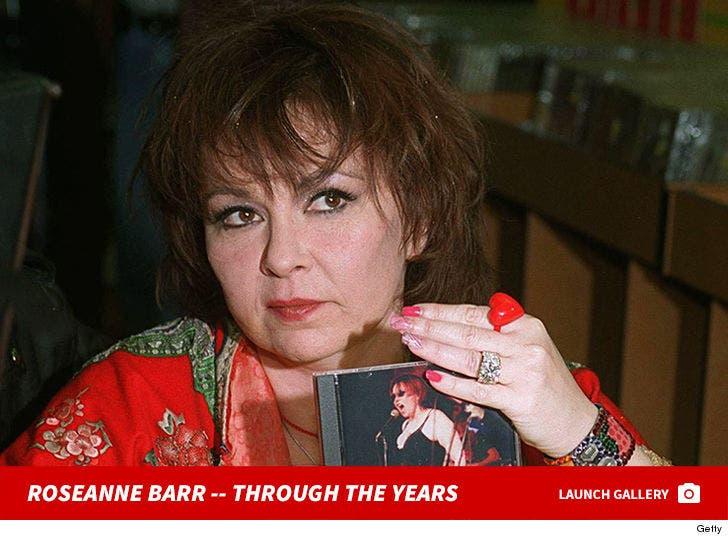 Roseanne Barr Through the Years