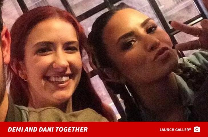 Demi Lovato and Dani Vitale Together