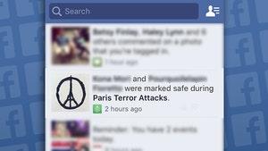 Paris Attacks -- Facebook Activates 'Safety Check'