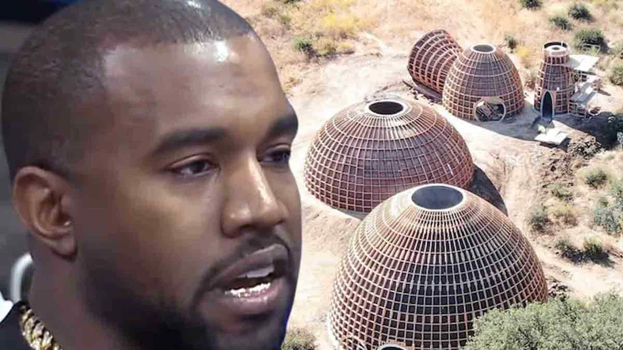 Kanye West's Neighbors Call Cops Over Sunday Construction at Dome Site