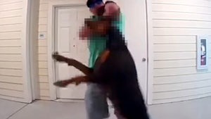 Man Arrested for Choking Ex-GF's Dog with Leash on Doorbell Cam