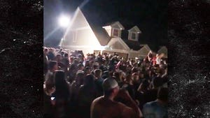 UNG Students Flood the Streets & Party Before School Starts