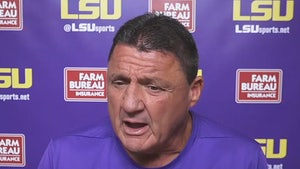 LSU's Ed Orgeron Says 'Most Of Our Players' Have Caught COVID-19 Already