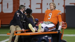 Nick Foles Initial X-Rays Show No Broken Hip After Violent Hit on 'MNF'