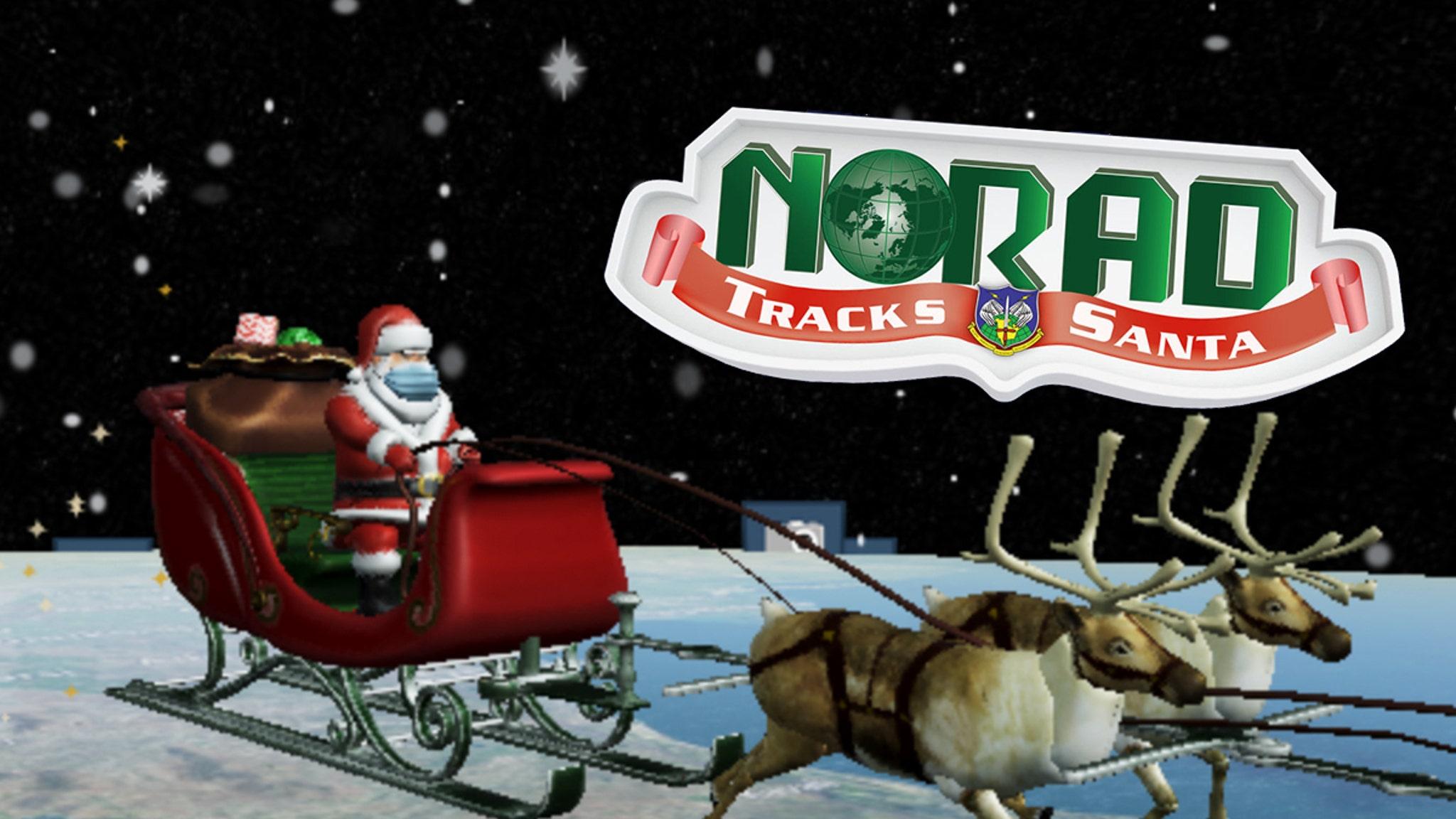 Entertainment News Today- 2020 Santa Tracker Is Covid Friendly, Has A Mask On | NewsBurrow thumbnail