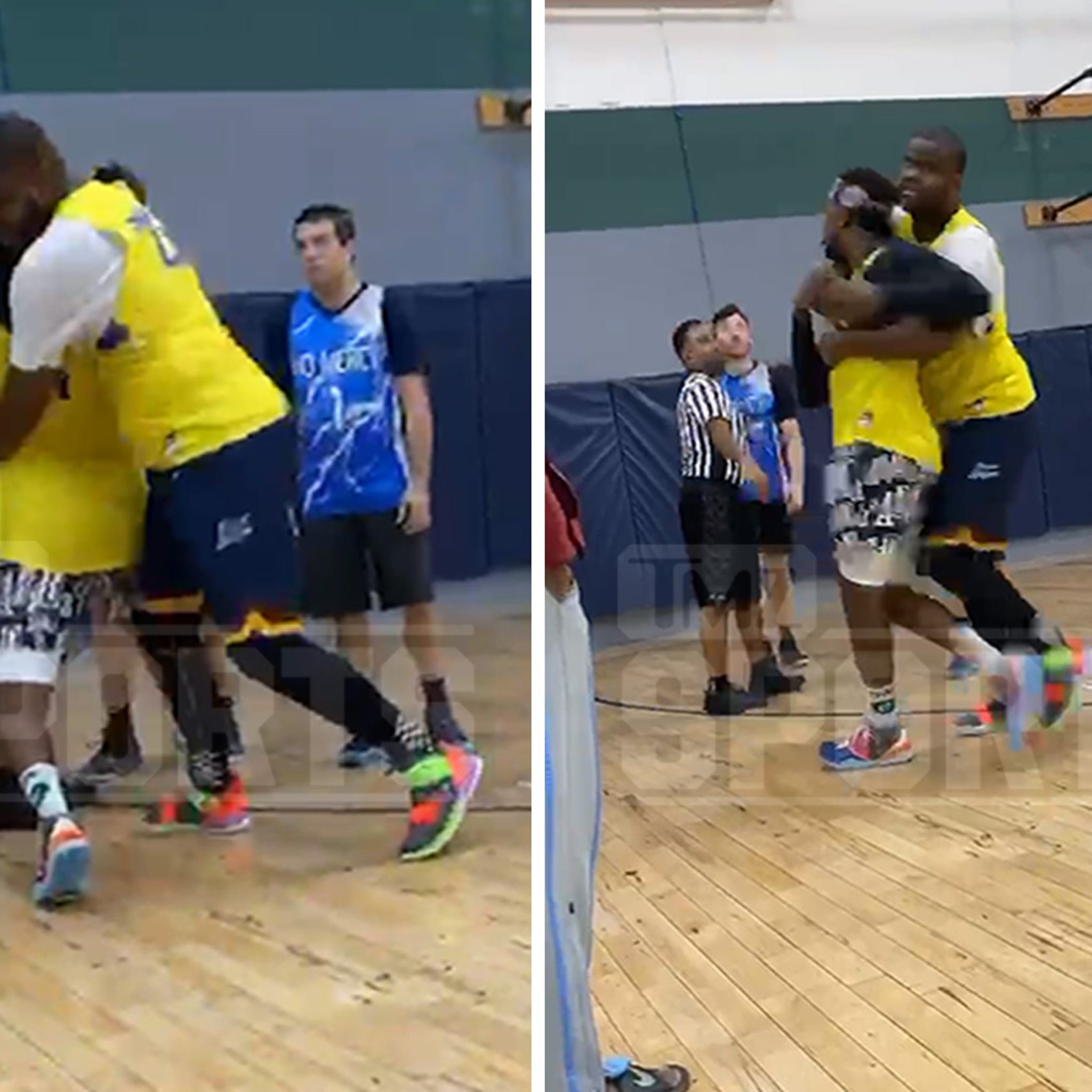Nick Young Forfeits Rec League Championship After On-Court Altercation