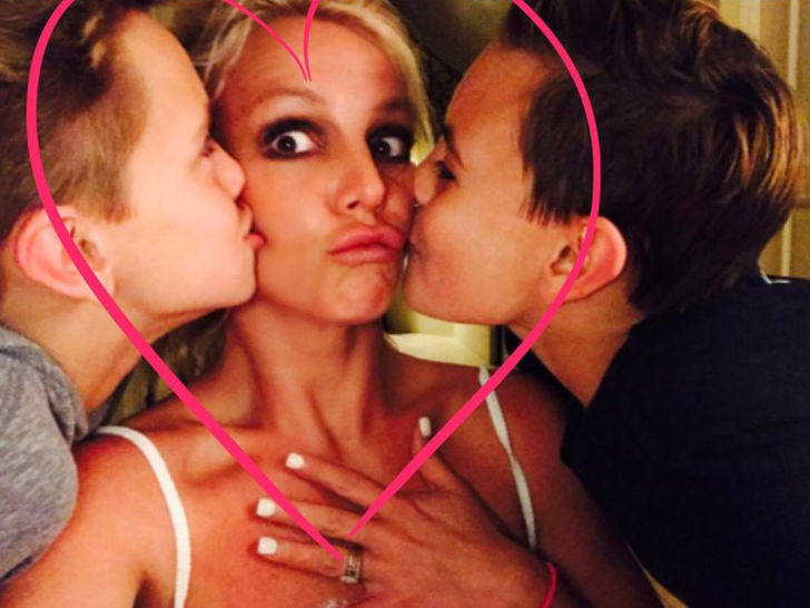 Fotos de família de Britney Spears