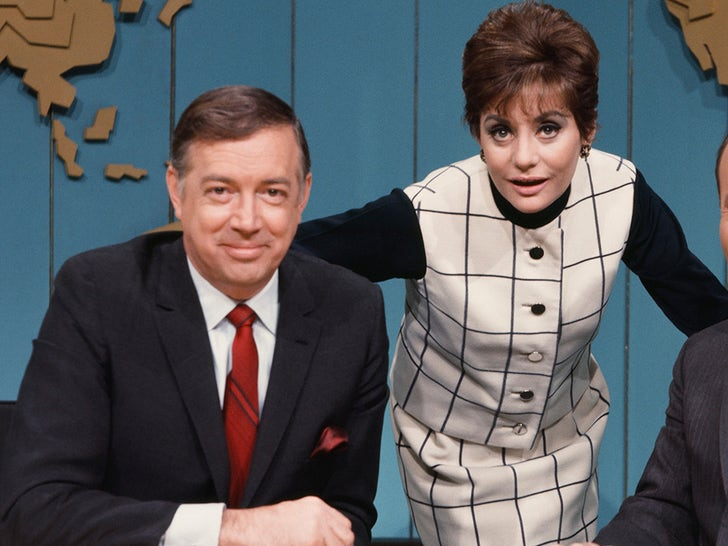 Hugh Downs and Barbara Walters -- Through The Years