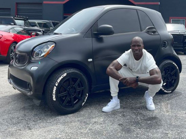 Ochocinco's Tricked Out Smart Car