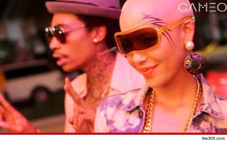 Amber Rose Face Tattoo: Amber Rose -- Is That A FACE TATTOO?!?