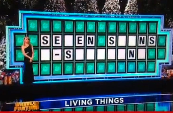 Wheel Of Fortune' Contestant -- I'd Like to Solve the Puzzle