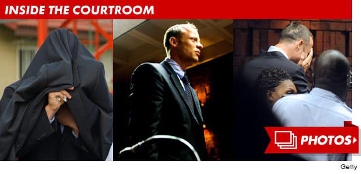 Oscar Pistorius -- Inside the Courtroom