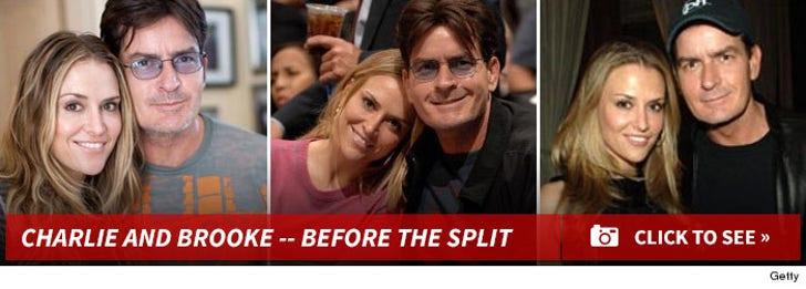 Charlie Sheen and Brooke Mueller -- Before The Split