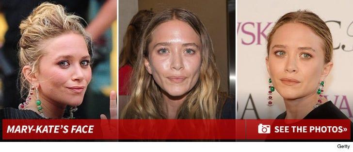 Mary-Kate Olsen's Face