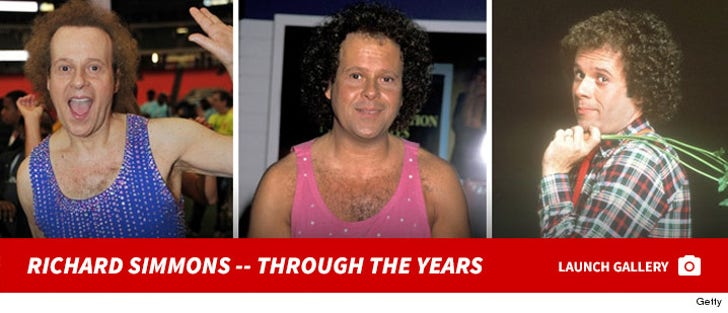 Richard Simmons -- Through The Years