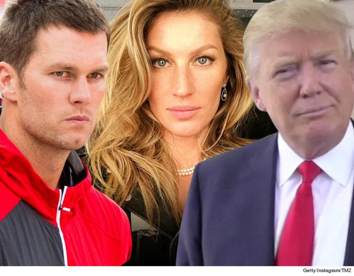 Tom Brady Says Gisele Won't Let Me Talk Politics Anymore