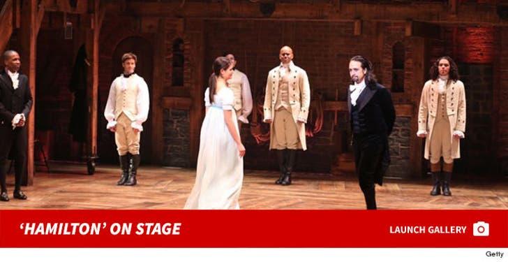 'Hamilton' On Stage