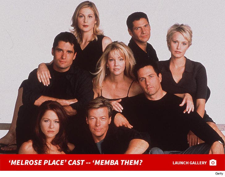 'Melrose Place' Cast -- 'Memba Them?