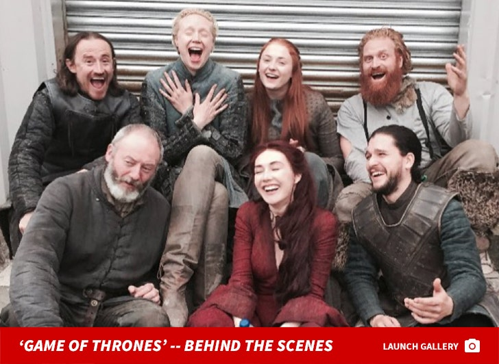 'Game Of Thrones' -- Behind The Scenes Photos