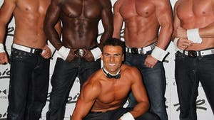 'Baywatch' Star -- Hammering Out a Deal w/ Chippendales
