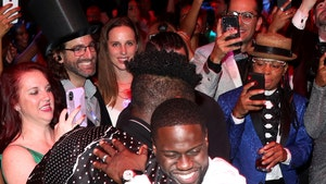 Kevin Hart and Tons of Celebs Celebrate at his 40th Birthday Party