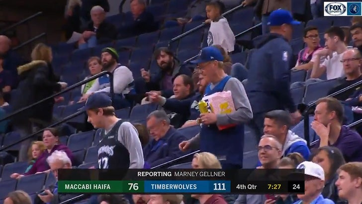 Timberwolves Hook Up Fans With Epic Seat Upgrade Get Out Of The