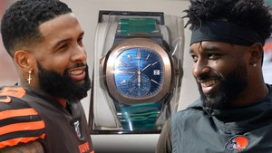 Odell Beckham Gifts Jarvis Landry $110k Watch, Happy 27th Birthday, Bro!