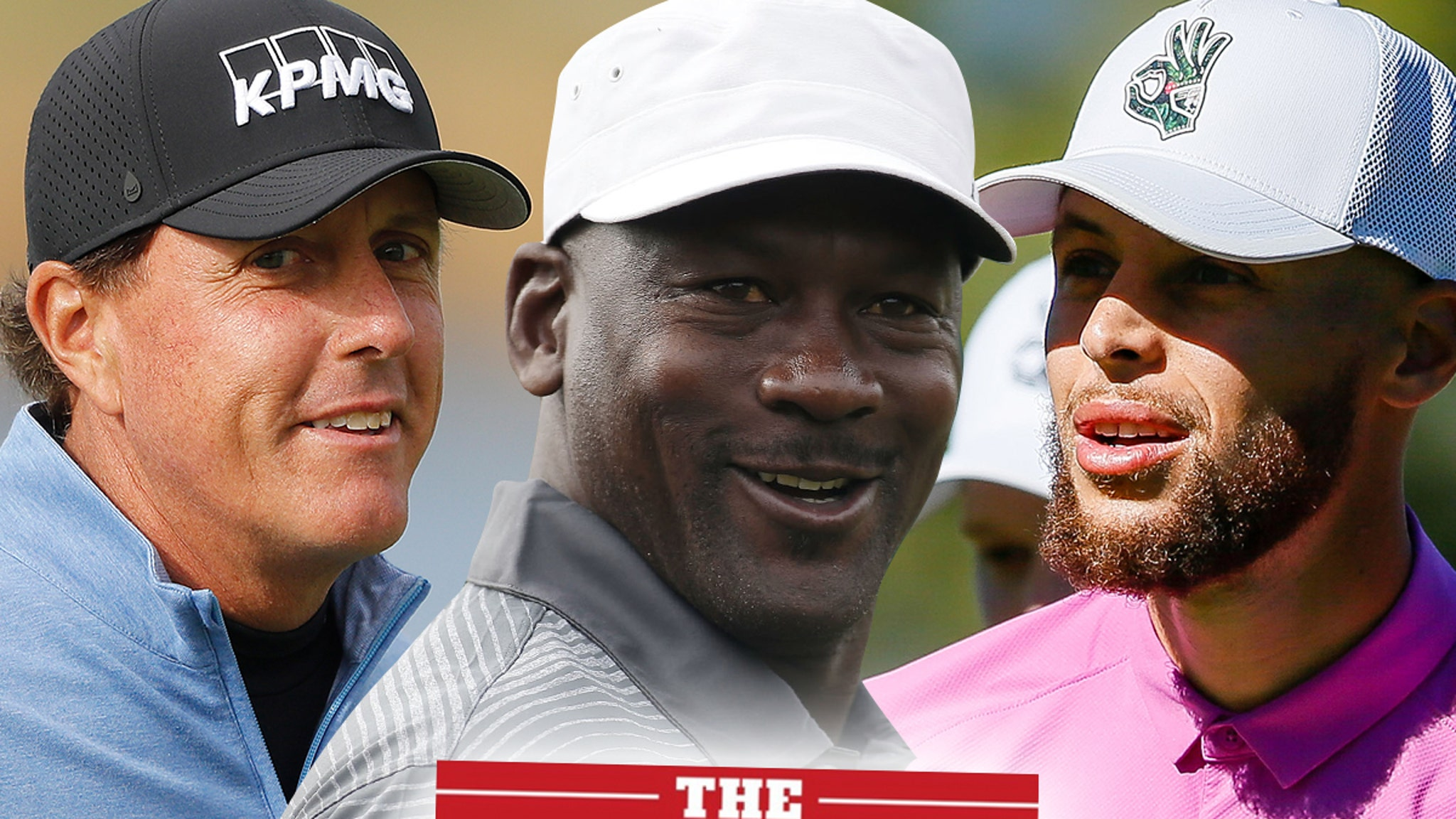 Phil Mickelson Down To Do 'The Match III' With MJ ... Steph Curry Too!!!