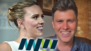 Scarlett Johansson, Colin Jost Wedding News Raises Money for Meals on Wheels