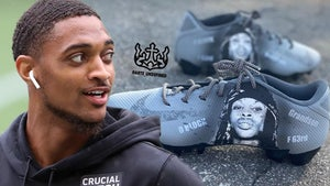 Late Rapper King Von Honored By NFL's Tajae Sharpe With Cleat Tribute
