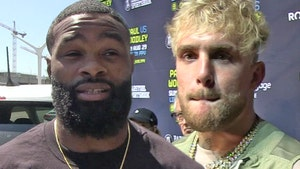 Tyron Woodley Says He's Getting Jake Paul Tat This Weekend, Rematch Back On?