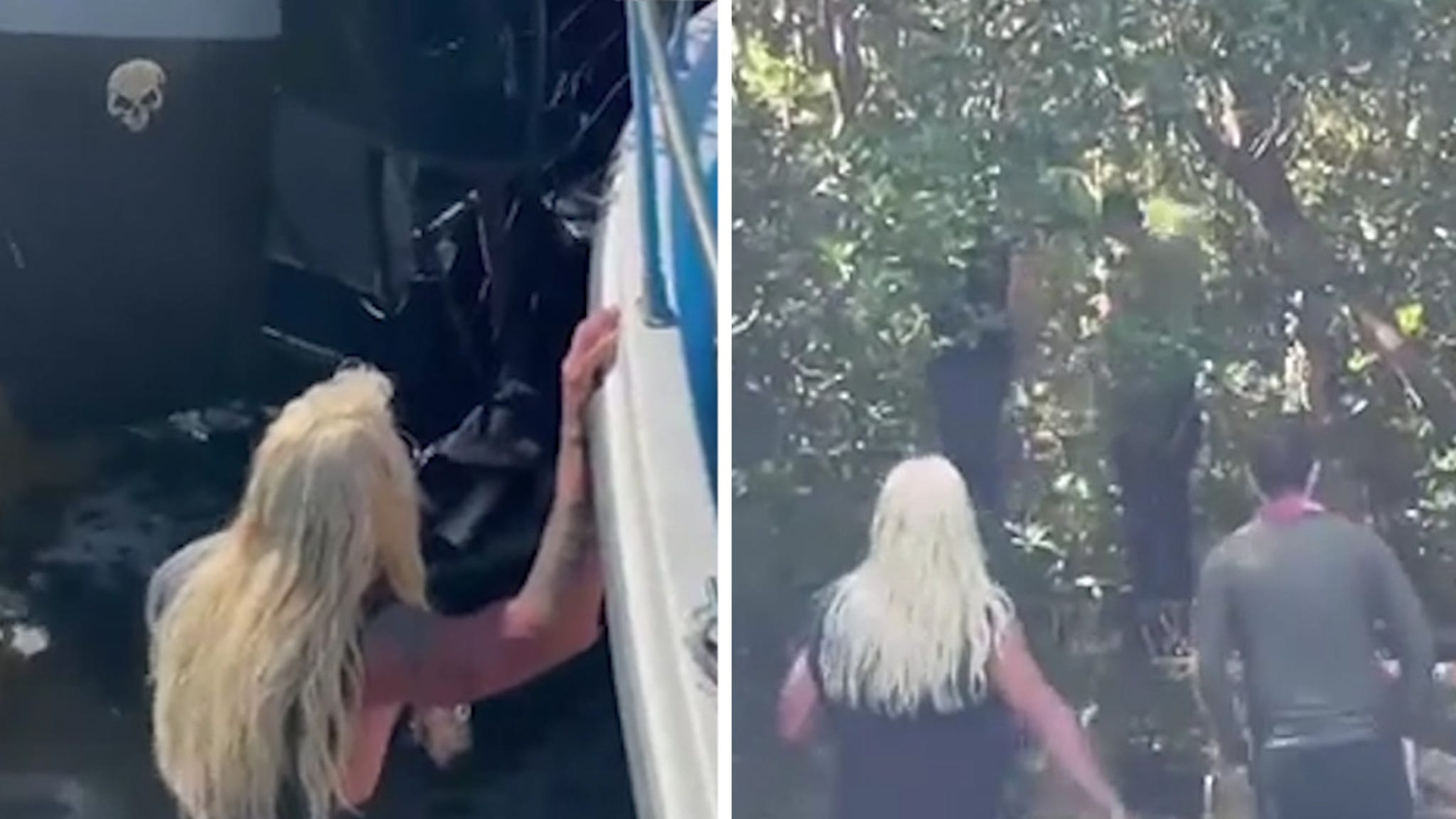 Dog the Bounty Hunter Wades Through Swampy Waters in Search for Brian Laundrie