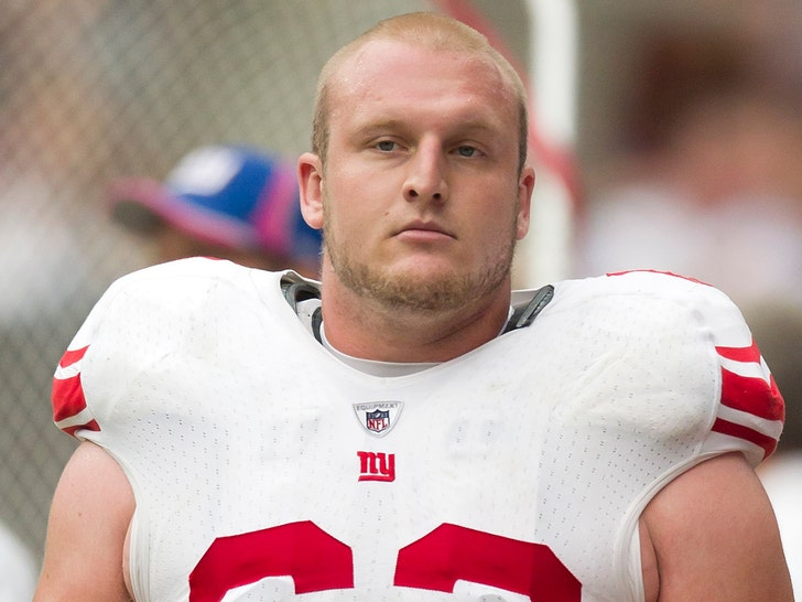 Ex-Giants Lineman Mitch Petrus Dead at 32 From Apparent Heat Stroke