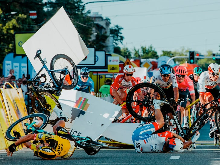 Tour Of Poland -- The Brutal Crash