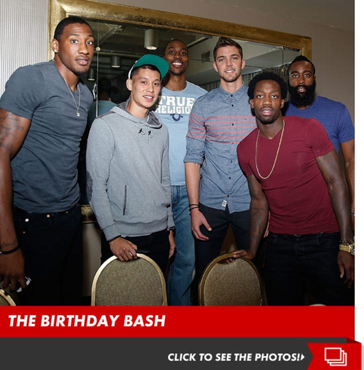 Chandler Parsons' Awesome Birthday Bash
