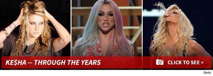 Ke$ha -- Through The Years