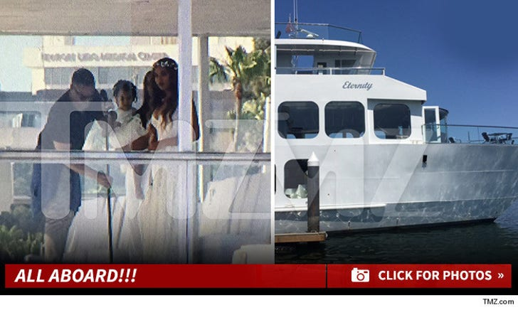 Tina Knowles Wedding -- All Aboard