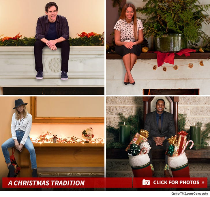 Celebrities on Shelves -- A New Christmas Tradition!
